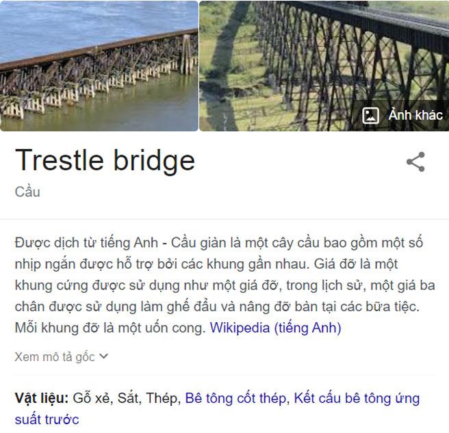"Kết quả truy vấn ""trestle bridge"""
