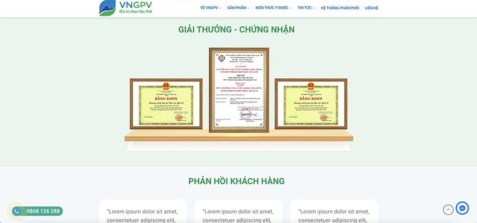 VNGPV - Công ty cổ phần thung lũng Dược phẩm Xanh Việt Nam